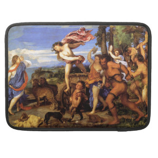 Bacchus and Ariadne by Titian MacBook Pro Sleeve