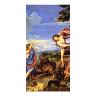 Bacchus and Ariadne by Titian Photo Card Template