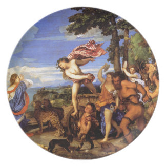 Bacchus and Ariadne by Titian Plate