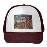 "Bacchus And Ariadne "" By Tizian (Best Quality) Trucker Hat"