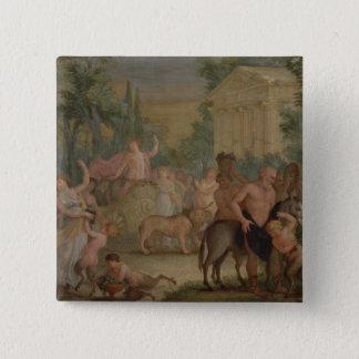 Bacchus and Ariadne (oil on canvas) 2 Pinback Button