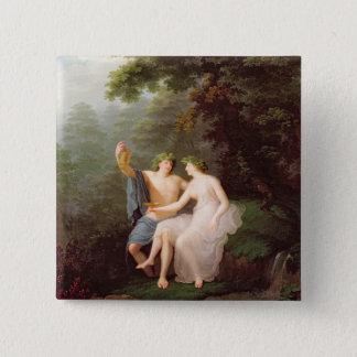 Bacchus and Ariadne Pinback Button