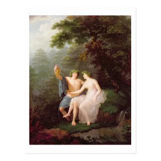 Bacchus and Ariadne Postcard