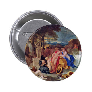 Bacchus And Ceres With Nymphs And Satyrs By Bourdo Pin
