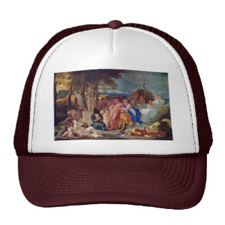 Bacchus And Ceres With Nymphs And Satyrs By Bourdo Trucker Hat