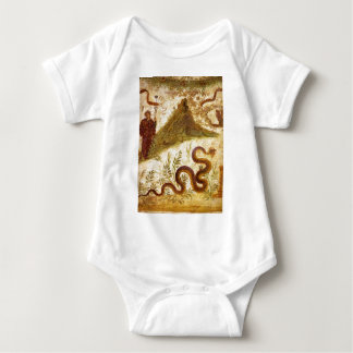 Bacchus and Serpent Agathodaimon in Pompeii Infant Creeper
