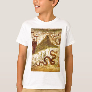 Bacchus and Serpent Agathodaimon in Pompeii T-Shirt