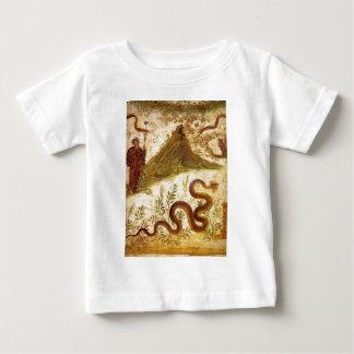 Bacchus and Serpent Agathodaimon in Pompeii Tee Shirt