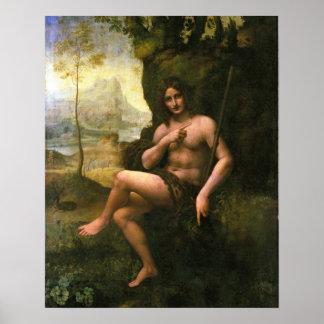 Bacchus, c.1695 (aceite en lona) póster