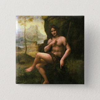 Bacchus, c.1695 (oil on canvas) pinback button
