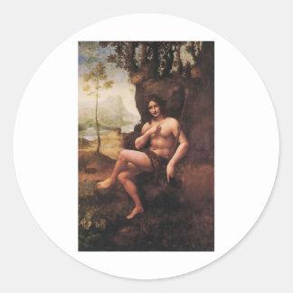 Bacchus Classic Round Sticker