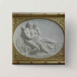 Bacchus comforting Ariadne, 1793 Pinback Button