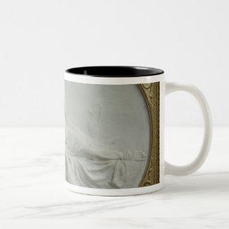 Bacchus comforting Ariadne, 1793 Two-Tone Coffee Mug