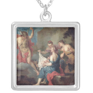 Bacchus Delivered to the Nymphs of Nysa Personalized Necklace