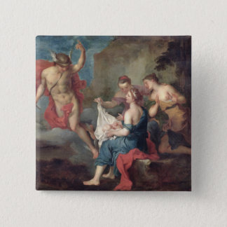 Bacchus Delivered to the Nymphs of Nysa Pinback Button