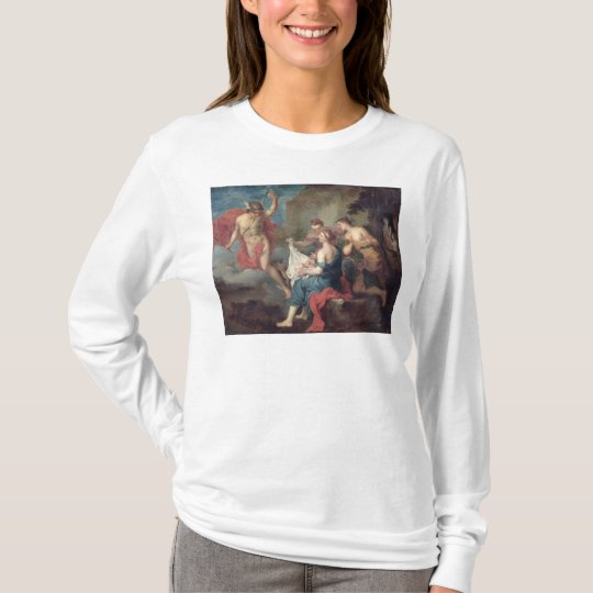Bacchus Delivered to the Nymphs of Nysa T-Shirt