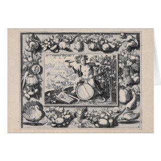 Bacchus / Dionysus God of Wine Card