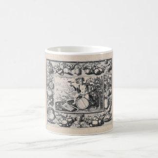Bacchus god of wine coffee mug