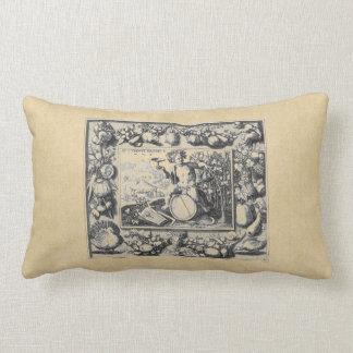 Bacchus God of Wine Lumbar Pillow