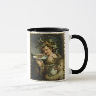 Bacchus (oil on canvas) mug