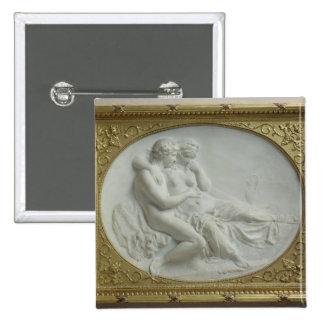 Bacchus que conforta a Ariadne, 1793 Pin Cuadrado