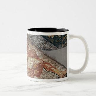 Bacchus que descansa detalle taza de café