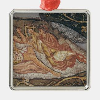 Bacchus Reclining, detail Metal Ornament