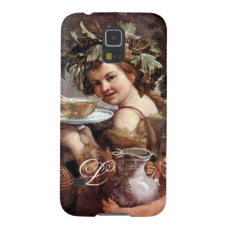 BACCHUS WITH GRAPES AND WINE MONOGRAM CASE FOR GALAXY S5