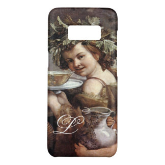 BACCHUS WITH GRAPES AND WINE MONOGRAM Case-Mate SAMSUNG GALAXY S8 CASE
