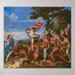 Bacchus y Ariadne c, 1523 Posters