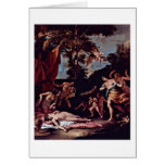 Bacchus y Ariadne de Sebastiano Ricci Tarjeton