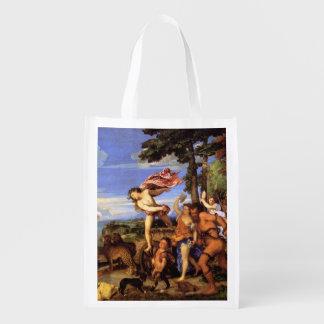 Bacchus y Ariadne por Titian Bolsa Para La Compra