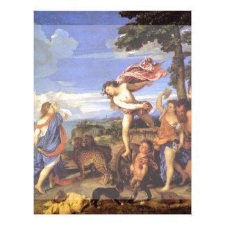 Bacchus y Ariadne por Titian Tarjetas Informativas