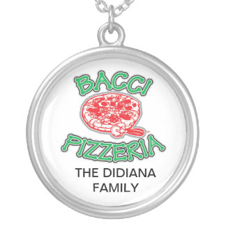 BACCI BLING ROUND PENDANT NECKLACE