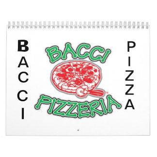 BACCI PIZZA CALENDER WALL CALENDAR