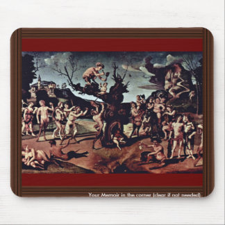 Baccus Discovered The Honey By Piero Di Cosimo (Be Mouse Pad