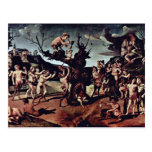 Baccus Discovered The Honey By Piero Di Cosimo (Be Postcard