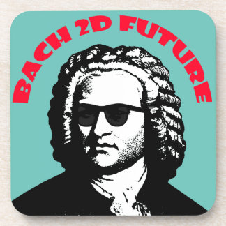 Bach 2D Drink Coaster