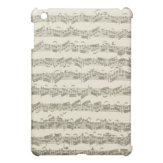 Bach 2nd Cello Suite, Several Manuscript Pages iPad Mini Covers
