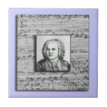 Bach Baroque Music Ceramic Tile