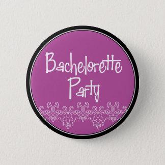 bach button purple