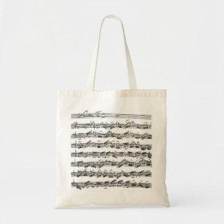 Bach Cello Suite Budget Tote Bag
