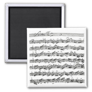 Bach Cello Suite Refrigerator Magnet