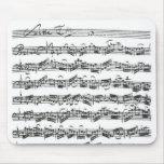 Bach Cello Suite Mouse Pad