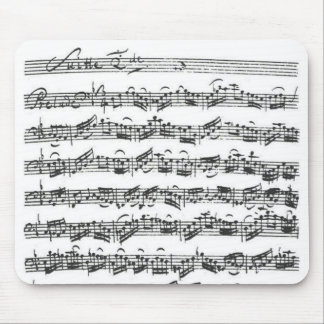 Bach Cello Suite Mouse Pad