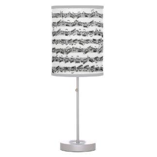 Bach Cello Suite Music Manuscript Desk Lamp