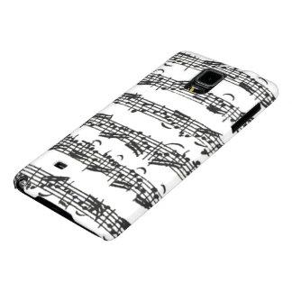 Bach Cello Suite Music Manuscript Galaxy Note 4 Case