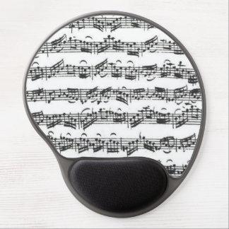 Bach Cello Suite Music Manuscript Gel Mouse Pad