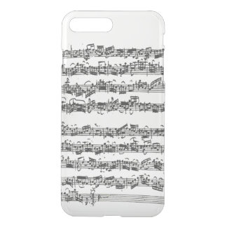 Bach Cello Suite Music Manuscript iPhone 8 Plus/7 Plus Case