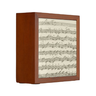 Bach Cello Suite Music Manuscript Pencil Holder